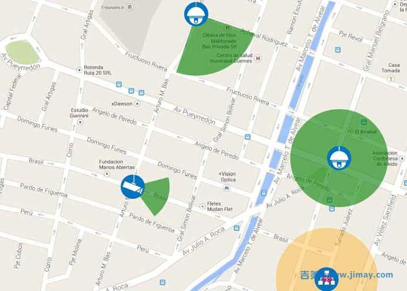 电子地图,叠加文字在水电站视频监控系统中的应用