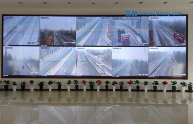 相约冬奥丨京张高速公路可视化指挥调度平台正式投入使用