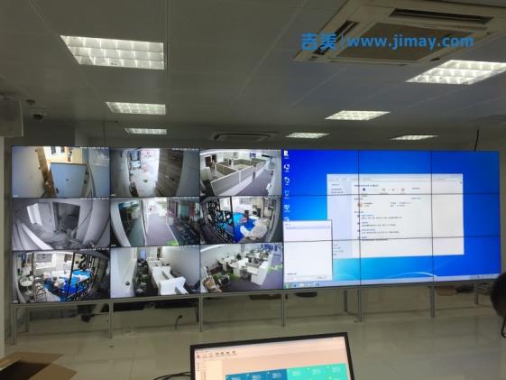 雪亮工程携手Internet,共建平安乡村LCD安防系统